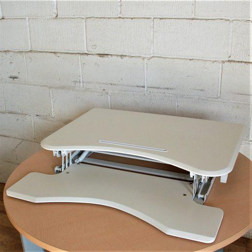 Sit-Stand Desk Converter White 9086