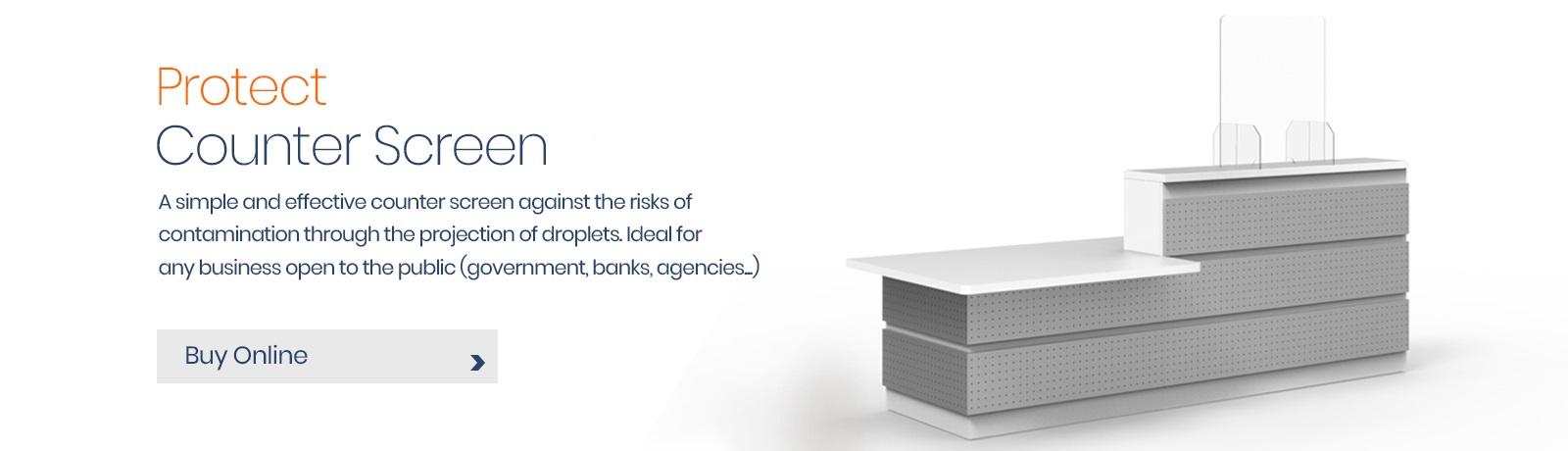 Slider 7 - Anti Bac Counter Screens