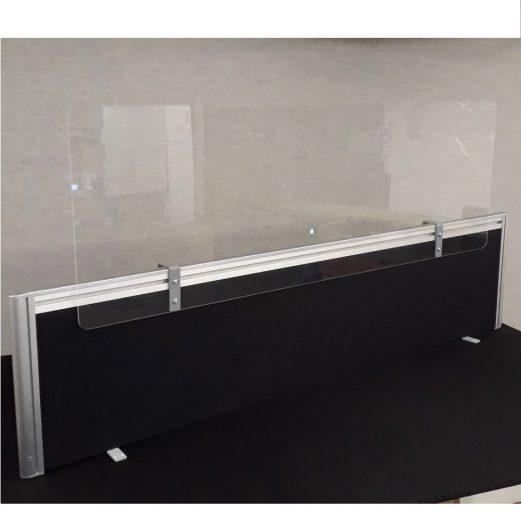 SF Perspex Desk Screen Extension