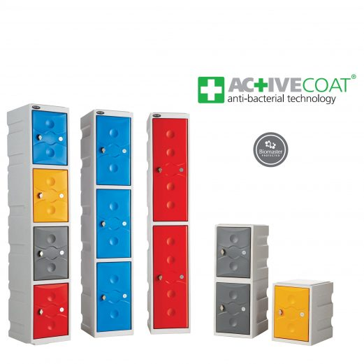 Plastic Lockers - Anti Bacterial Technology