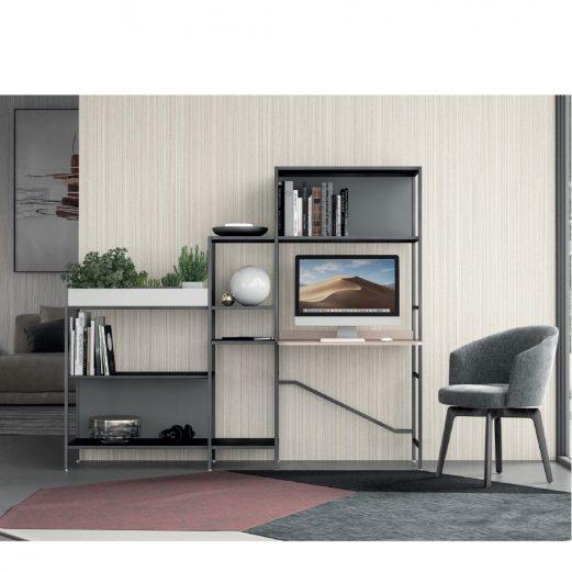 Concerto Home Office Desk & Storage 3