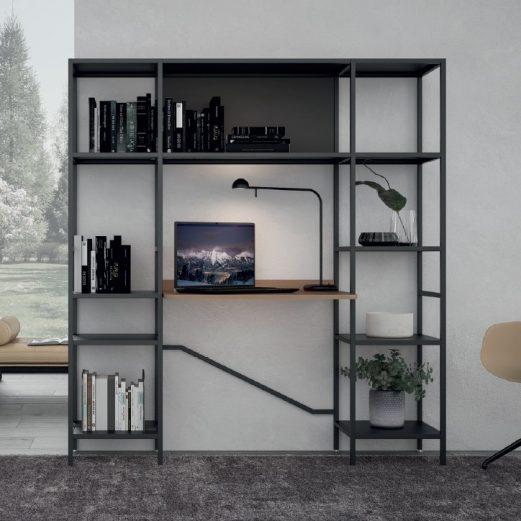 Concerto Home Office Desk & Storage 4