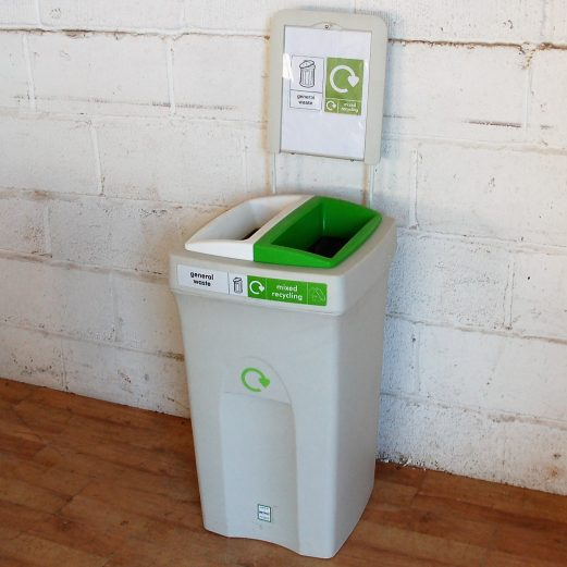 ENVIROBIN 100 Litre General Waste and Recycling Bin 9095