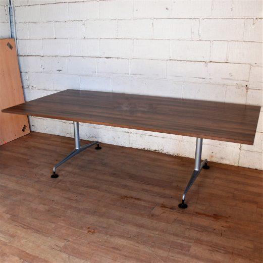 Walnut Boardroom Table 240x120cm 15111