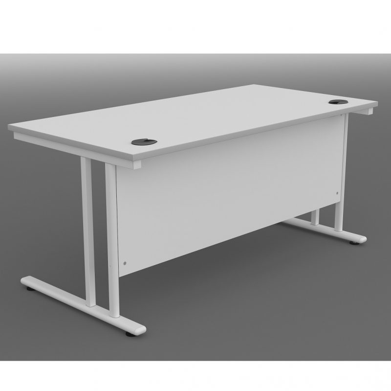 Georgio Straight Desk 800mm Deep UK Manufactured 800mm - 2000mm widths 740mm high 16 melamine finishes (3 price bands) 4 leg finishes 2-3 Week Lead Time Free Delivery & Installation throughout London (anywhere within the M25), Essex & parts of Suffolk - please contact us for delivery charges to other areas.