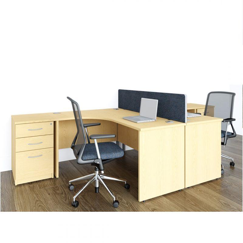Hawk Panel J Shape Desk