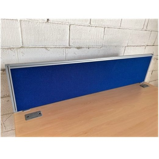 Desk-Mounted Partition Screen Blue 9106