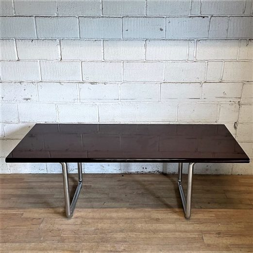 Boardroom Meeting Table Rosewood Chrome 15132